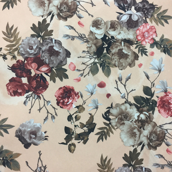 4f97293db6 Different types of floral printing velvet fabric for sofa or furniture