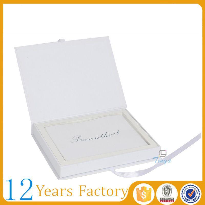 Elegant white wedding invitation flip open box buy wedding elegant white wedding invitation flip open box stopboris Gallery