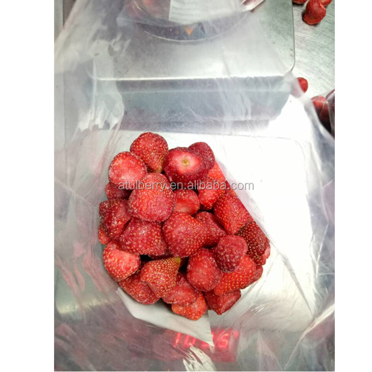 Sale by best bulk price for frozen strawberry 2017