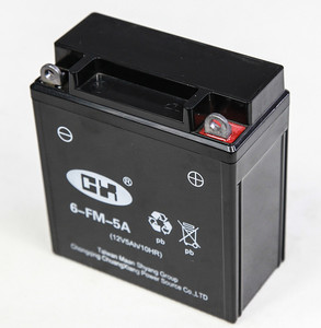 12Volt Vrla Battery 5Ah Green Motorcycle Battery For 12N5-BS