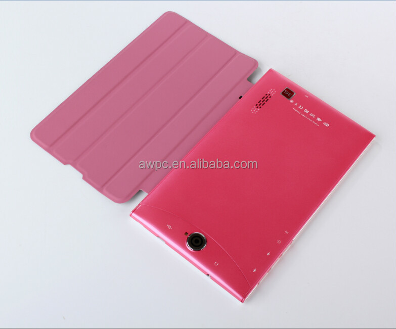 7inch dua sim cards tablet pc with 3g phone call function