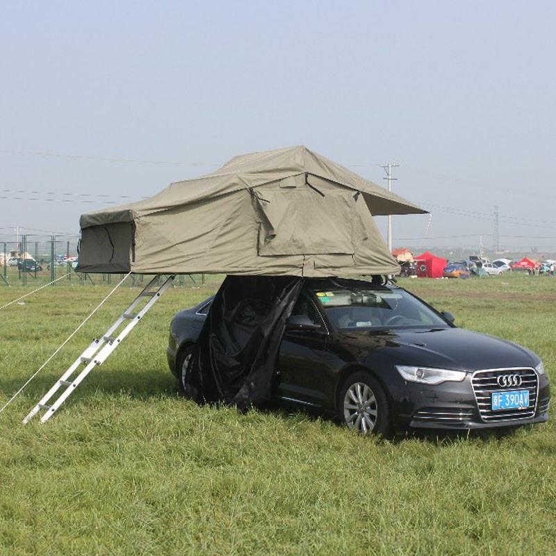 overland car roof top tent fit many vehicle with roof rack rhino and thule