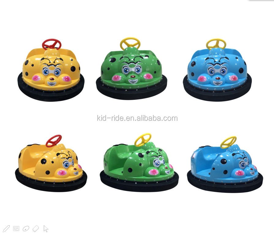Hot Sale Indoor Playground Coin Operated Battery Animal Bumper Car  for Kids