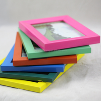 Colourful Plastic Picture Frame 4x6 5x7 6x8 8x10 3x3 wrought iron butterfly wall decor