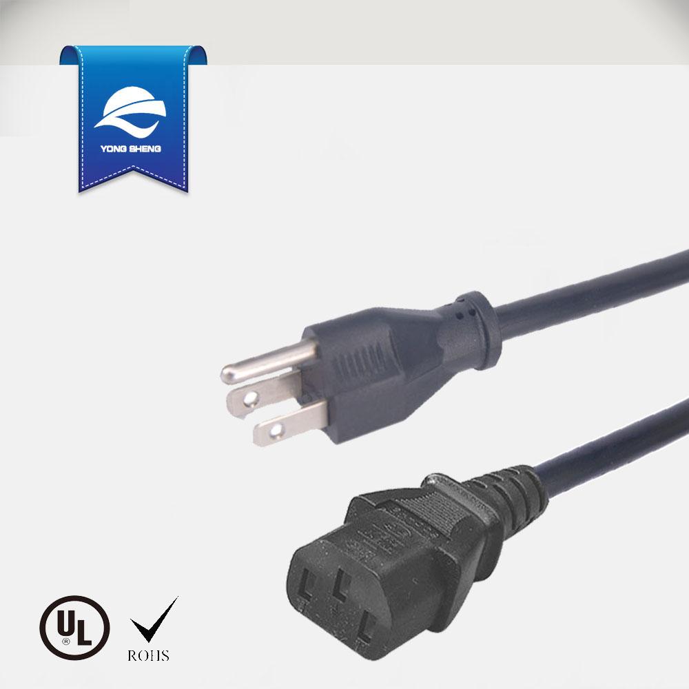 American 3 Pin Plug Top Power Cord Buy Standard Wiring A Cord3 Topamerican Product On