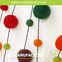 mobile wool felt ball balls, fashion pom-poms ball