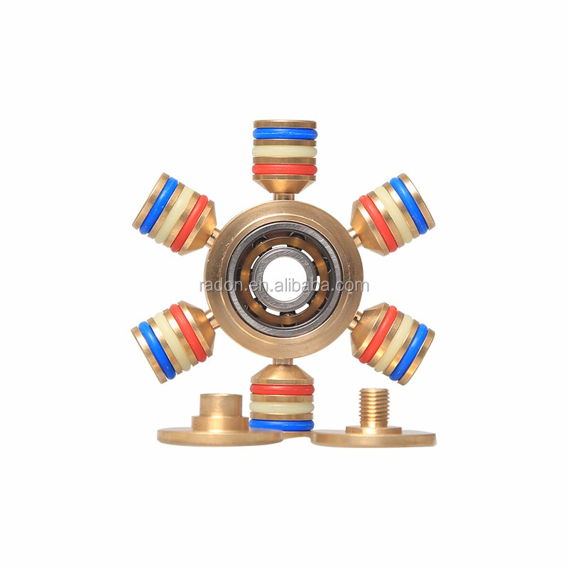 Hot selling release stress Six axis ispin fidget spinner bearing hand spinner