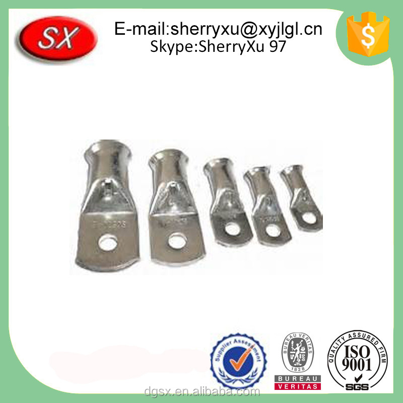 Factory price Customized Copper Tube Terminal Bimetal Cable Pin Lugs