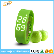 W2 Wristband Smart USB Watch Bracelet LED Wrist Band For Samsung iPhone IOS Android Gifts watch