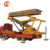Portable rooftop bamboo roofing sheet forming machine