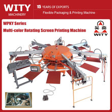 WPKY Series Multi-color automatic tshirt printing machine