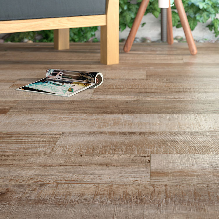 Home Decoration Beautiful wood pattern vinyl plank floor