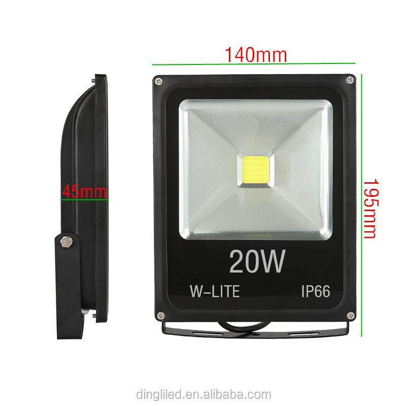 20w outdoor LED Flood light/LED Project lamp/RGB remote control led floodlight remote control
