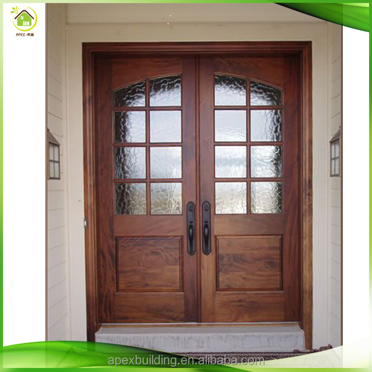 Lowes Glass Modern Mahogany Solid Wood Double Front Prehung Doors Designs Buy Solid Wood Double Front Door Designsmodern Wood Door Designspre Hung