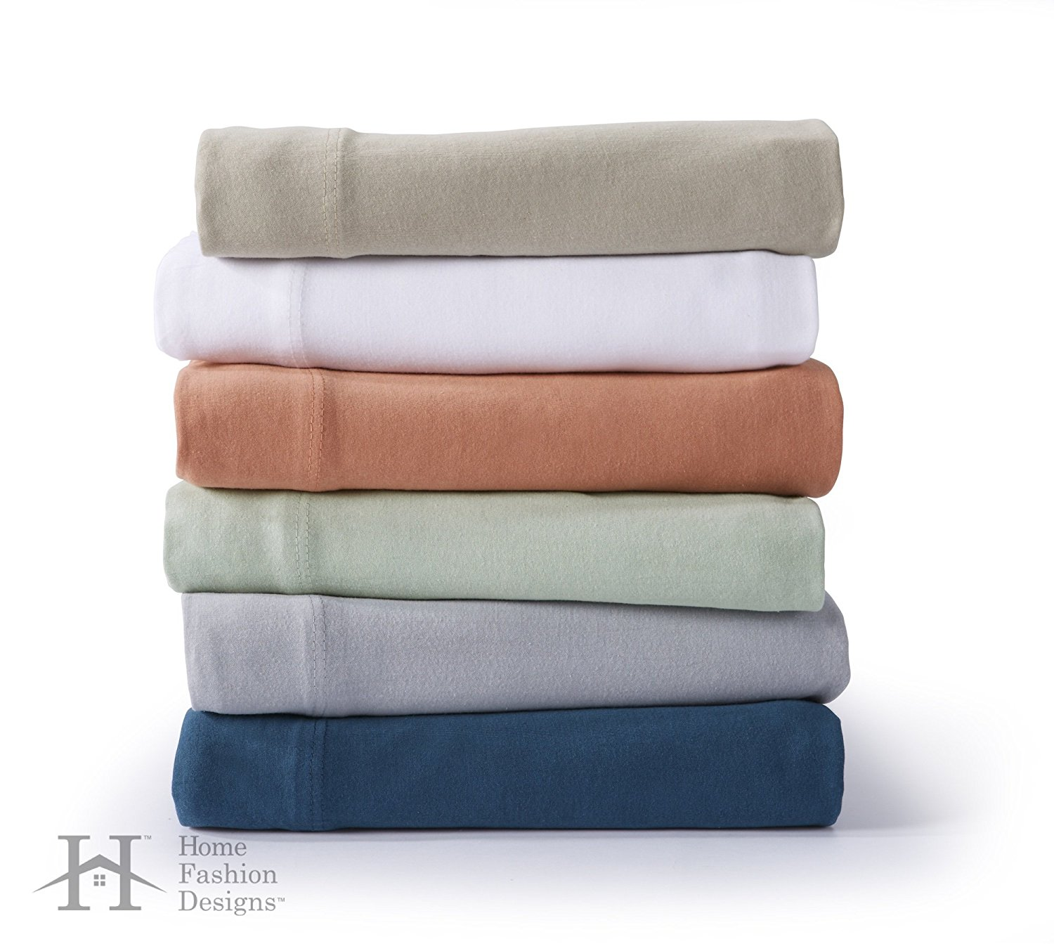 Get Quotations · Zimmer Collection Extra Soft Jersey Knit Sheet Set. 100%  Cotton Luxury Bed Sheets In