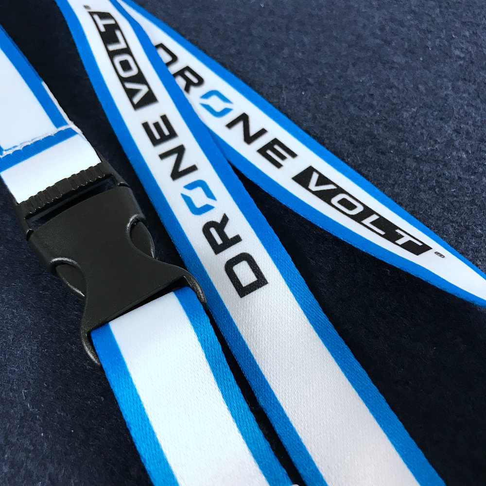 card holder neck strap printing luminated tubular lanyard