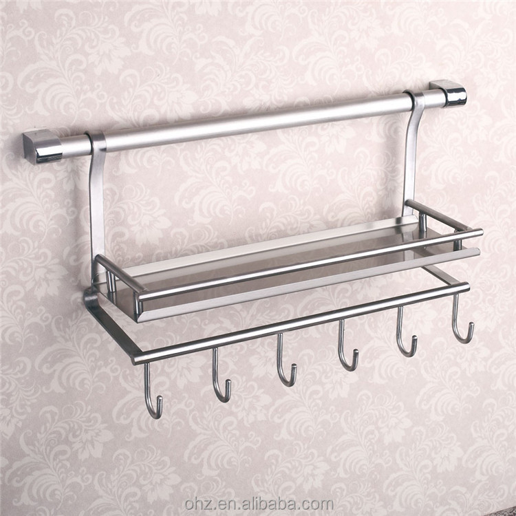 Wall Mounted Stainless Steel Kitchen Utensil Holder   Buy Kitchen Utensil  Holder,Stainless Steel Plate Holder,Stainless Steel Wall Spice Rack Product  On ...