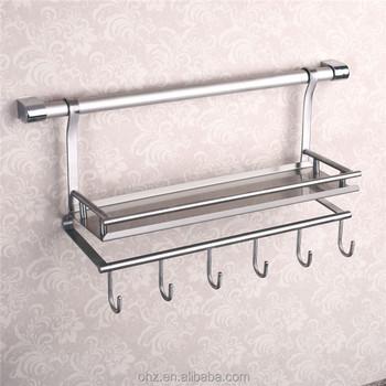 Wall mounted stainless steel kitchen utensil holder & Wall Mounted Stainless Steel Kitchen Utensil Holder - Buy Kitchen ...