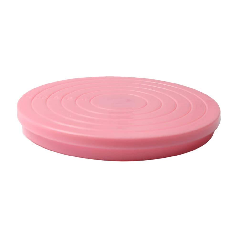 BESTONZON Cake Decorating Display Stand Rotating Icing Turntable Revolving Cake Plate Decoration Supplies