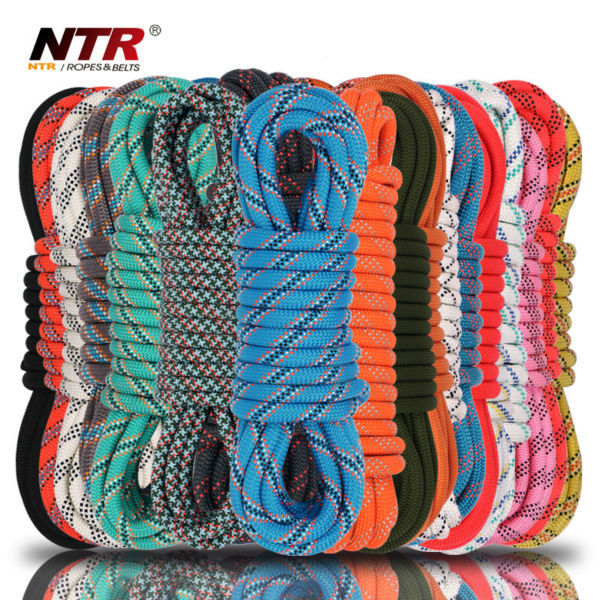 NTR best buy color polyester rope pp double braided rope