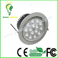 15W Indoor LED Downlight 230V used With Build in AC DC Power Driver