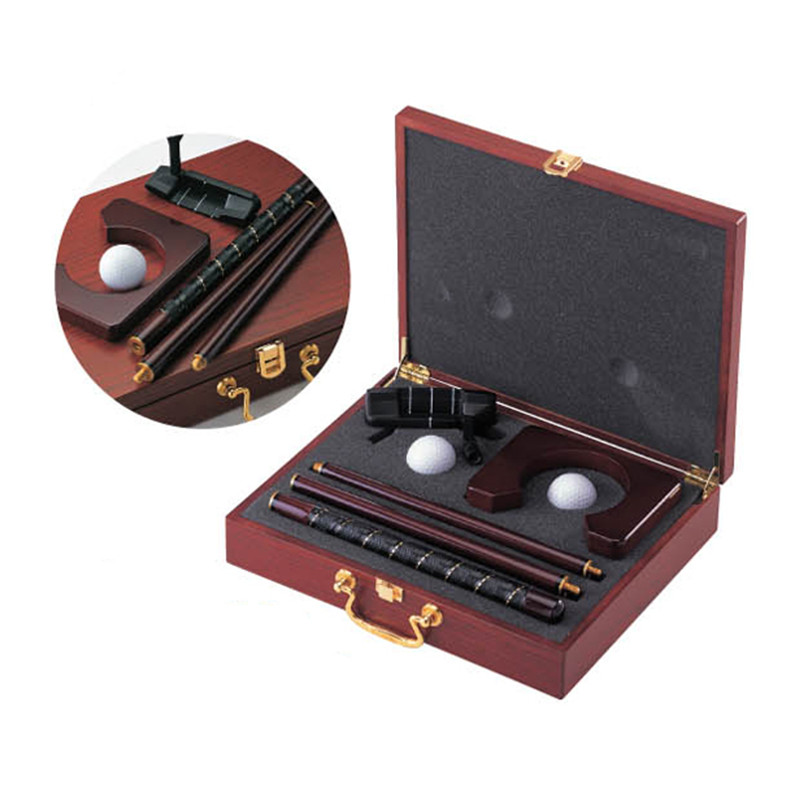 executive practice indoor golf game golf travel set putter cup balls golf gift
