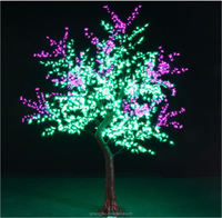 2.5M Indoor led tree 2017 outdoor large artificial tree with light