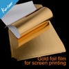 Kenteer Golden foil decorative film for one color screen printing
