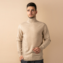 Pull en laine 100% Cachemire Tricot Hommes Pull