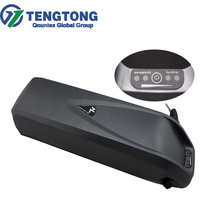 Lithiun-ion Dolphin Style Case 48V 12ah Battery LifePo4 Battery Cheap price Black Slim Shark for Bike