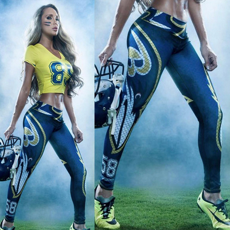 1d9d0edb158 3D High-grade Printing Leggings Fashion Sport High Elastic yoga Pants Carry  Buttock Keep Breathable ...