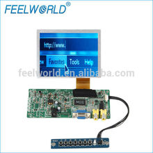 5 inch LCD module touch panel screen with HDMI VGA AV inputs