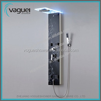Luxury Environment Abs Handles Outdoor Stainless Steel Shower