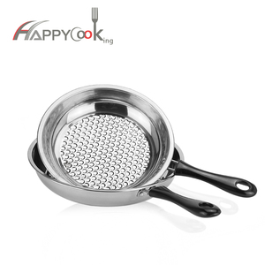 Wholesale 20/22/24/26cm round non-stick stainless steel frying pan
