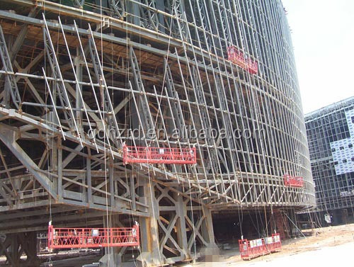 Scaffolding For Sale Lift Working Platform With Rope, Scaffolding ...