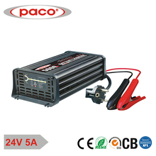 Mcu Controlled smart battery charger 24v 5Amp for marine ships trucks cars