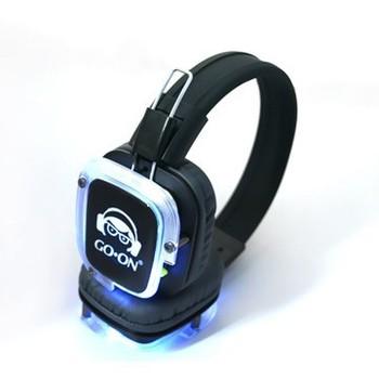 Rf-309 High Quality Silent Disco Wireless Headphone Working With ...