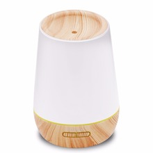 2017 new portable home mini wooden /timer/7 color light aroma essential oil diffuser