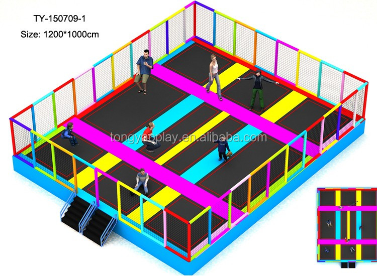hochwertige kinder indoor und outdoor trampolin park f r erwachsene trampolin produkt id. Black Bedroom Furniture Sets. Home Design Ideas