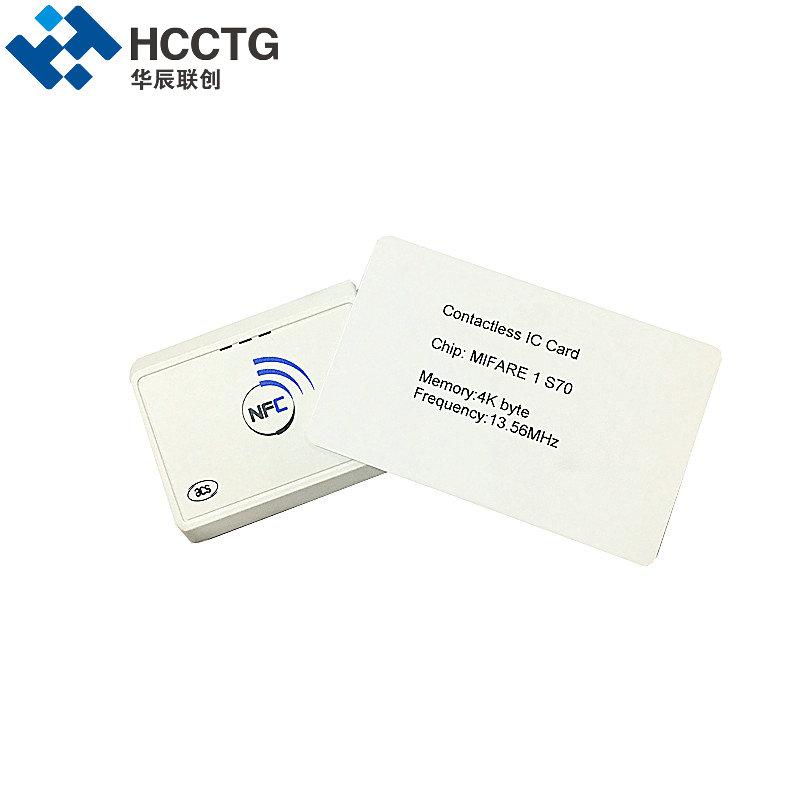 Portable Bluetooth Nfc Card Skimmer Card Reader Writer Acr1311 - Buy ...