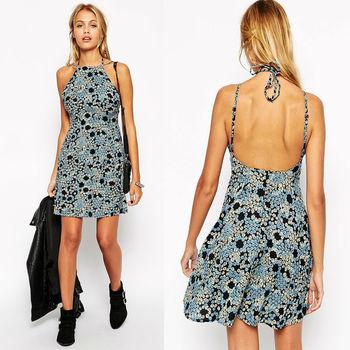 Backless Dresses Strip