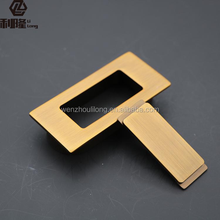 High Furniture Cabinet Handles Antique Brass Handle Hidden Cabinet Handle