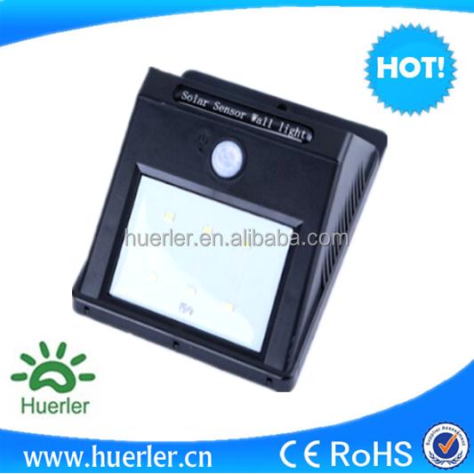 PIR capteur chine usine solaire jardin lumière solaire lampe ...