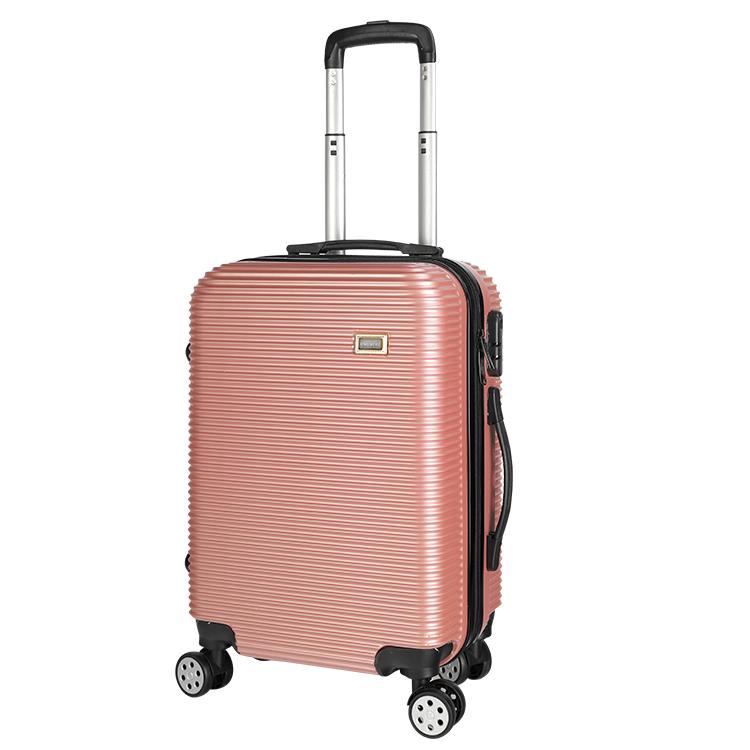 Bagage à main valise de voyage 3 pièces ensemble de bagages chine chariot sacs fantaisie sacs de voyage design de haute qualité pc abs bagages