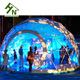 Metal Frame Dome Projection / Cheap Small Geodesic Dome House for Outdoor Events