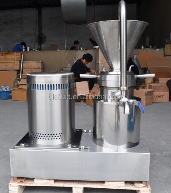 stainless steel sesame seed butter colloid mill