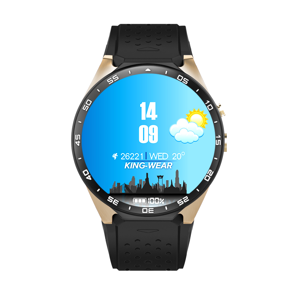 "2018 NKW88 3 กรัม GPS WiFi 1.39 ""Amoled Android 5.1 บลูทูธ 4.0 Smartwatch พร้อม Pedometer Heart rate monitor"