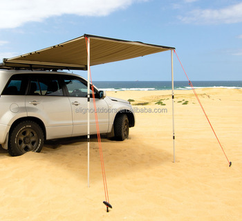 4wd 4x4 Rv Aluminium Retractable Car Side Shelter Awning For Sale