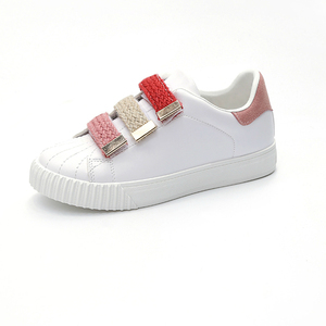 Hot New Products Flat Casual Shoes and Sneakers Hook and Loop for Women