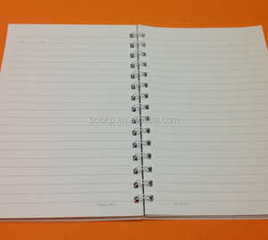 customised A5 size paper notebook or exercise notebook printing